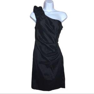 Hailey Logan By Adriana Papell Black Mini Dress